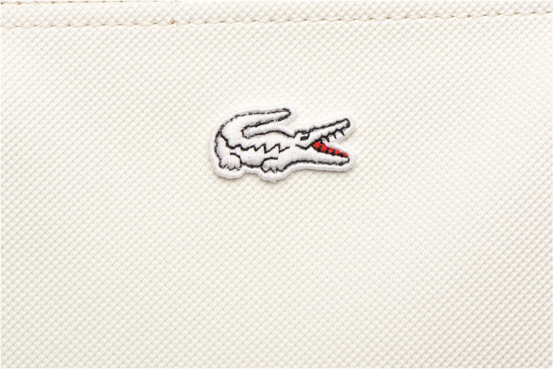Sacs à main Lacoste L.1212 Tote Blanc vue gauche