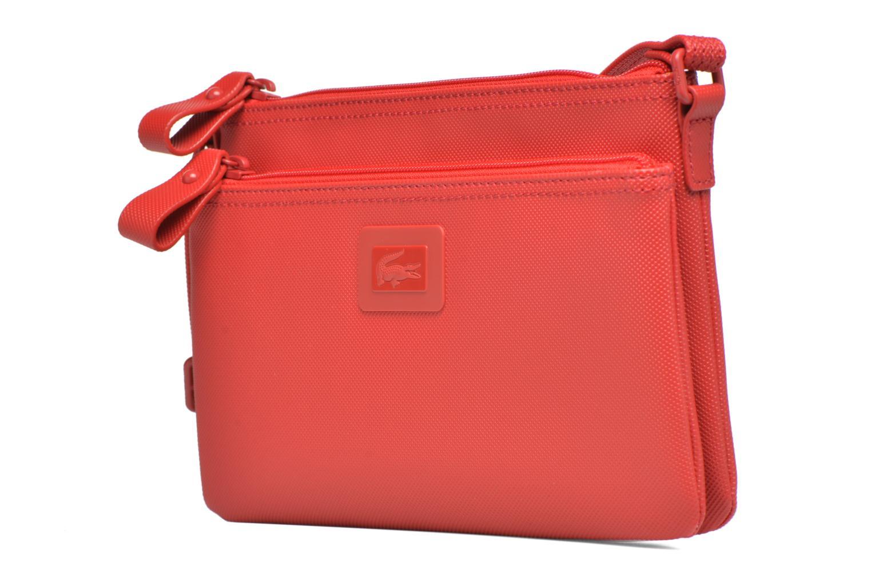 Handtaschen Lacoste W CLASSIC Crossover rot schuhe getragen