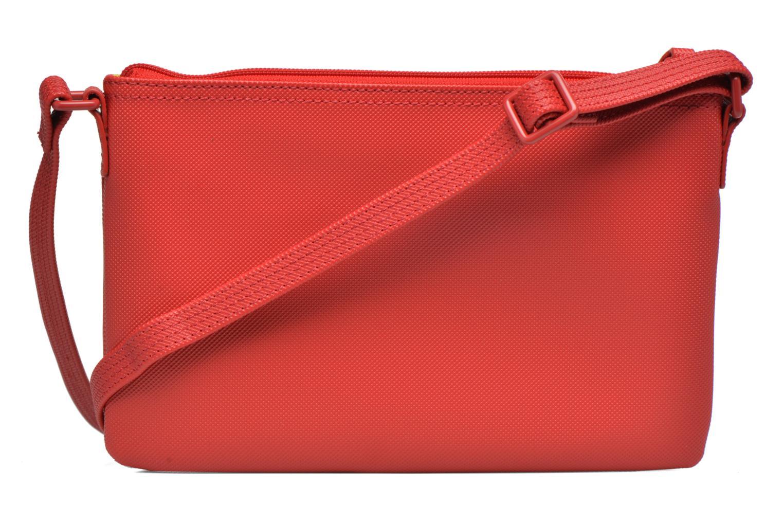 Handtaschen Lacoste W CLASSIC Crossover rot ansicht von vorne