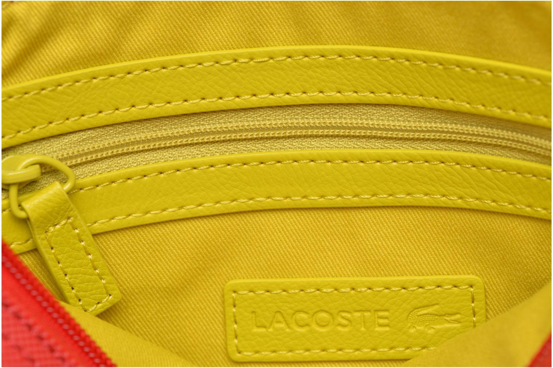 Handtaschen Lacoste W CLASSIC Crossover rot ansicht von hinten
