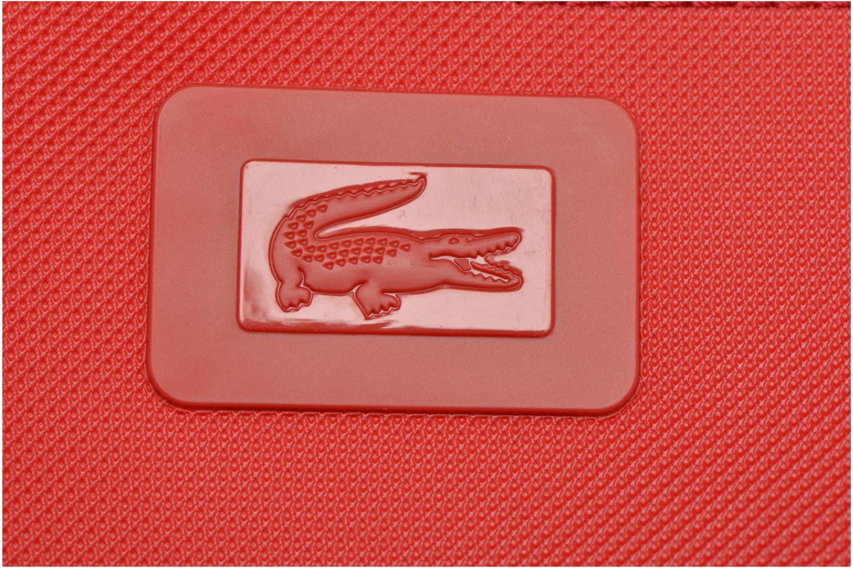 Handtaschen Lacoste W CLASSIC Crossover rot ansicht von links