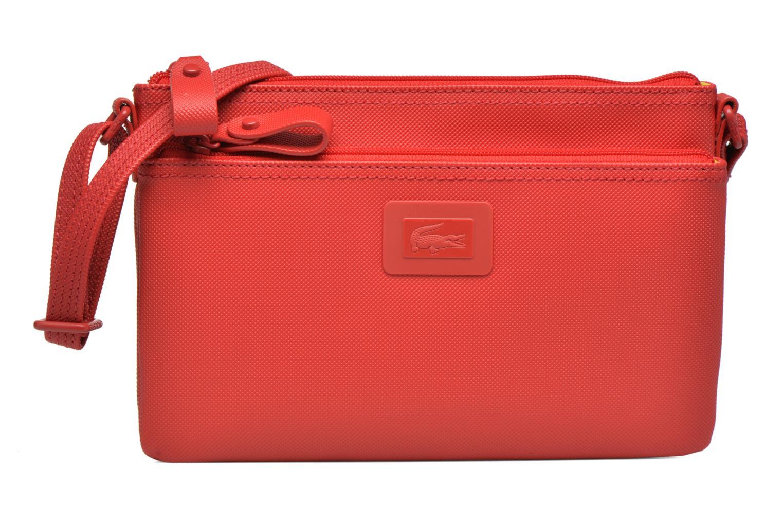 Handtaschen Lacoste W CLASSIC Crossover rot detaillierte ansicht/modell