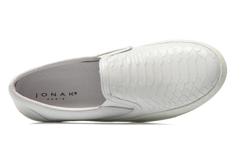 Sneakers Jonak Carla Bianco immagine sinistra