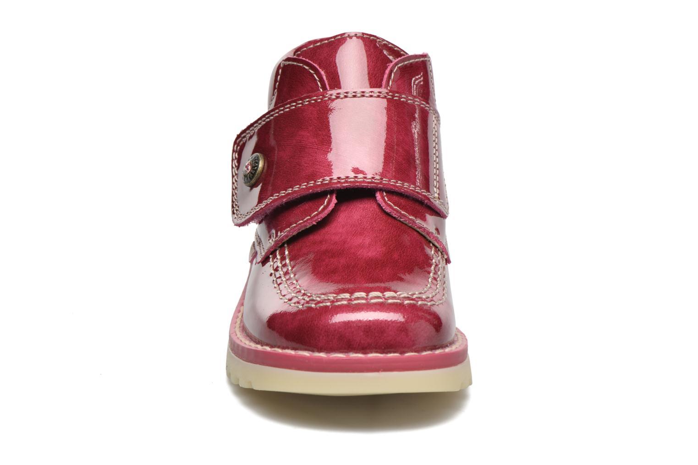 Bottines et boots Pablosky Alexia Rouge vue portées chaussures
