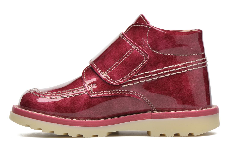 Bottines et boots Pablosky Alexia Rouge vue face