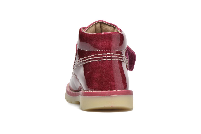 Bottines et boots Pablosky Alexia Rouge vue droite