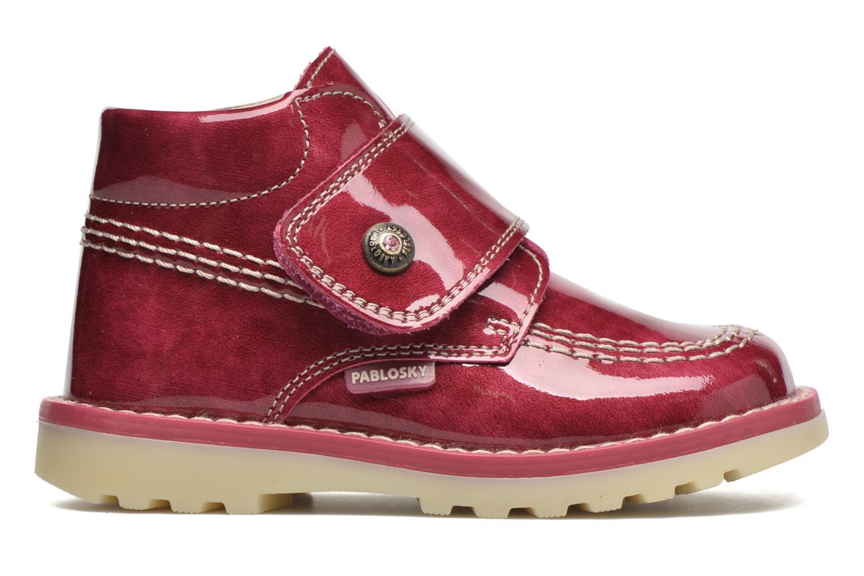 Bottines et boots Pablosky Alexia Rouge vue derrière