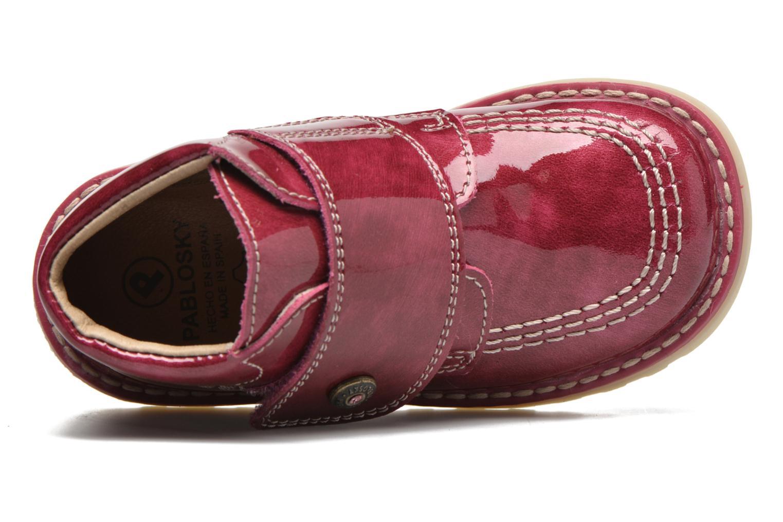 Bottines et boots Pablosky Alexia Rouge vue gauche