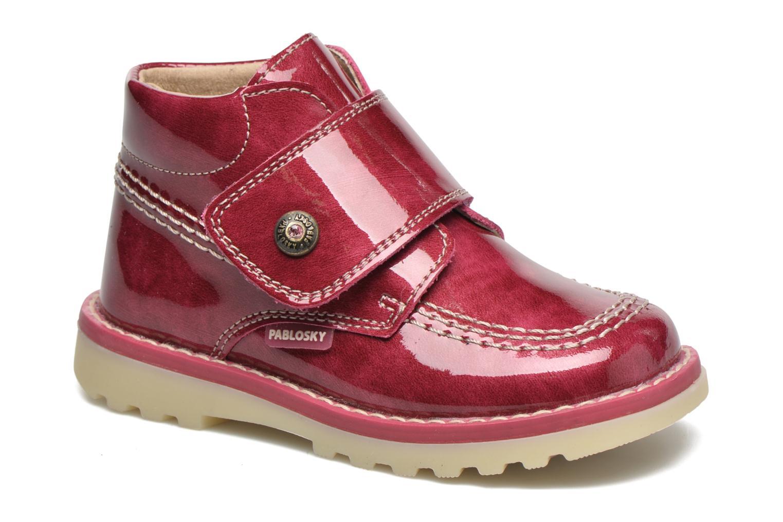 Bottines et boots Pablosky Alexia Rouge vue détail/paire
