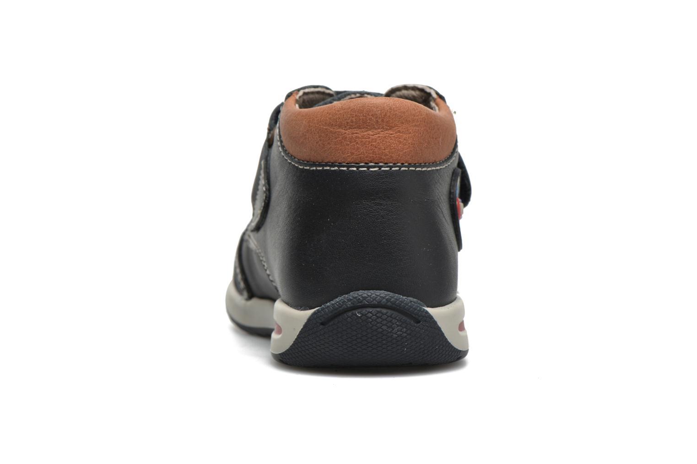 Chaussures à scratch Pablosky Antonio Bleu vue droite