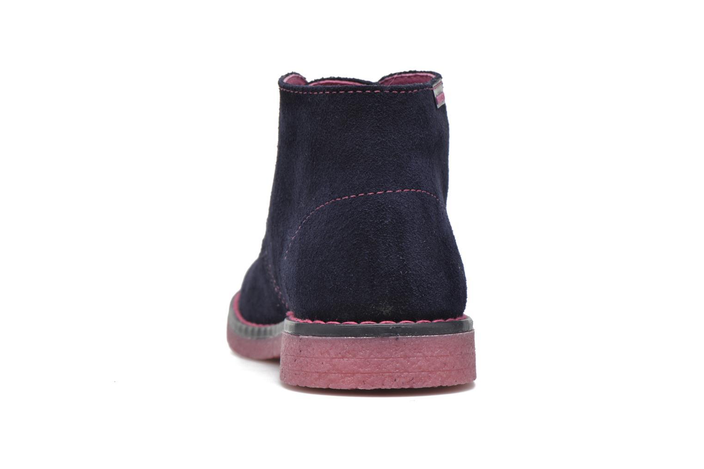Chaussures à lacets Pablosky Camila Bleu vue droite