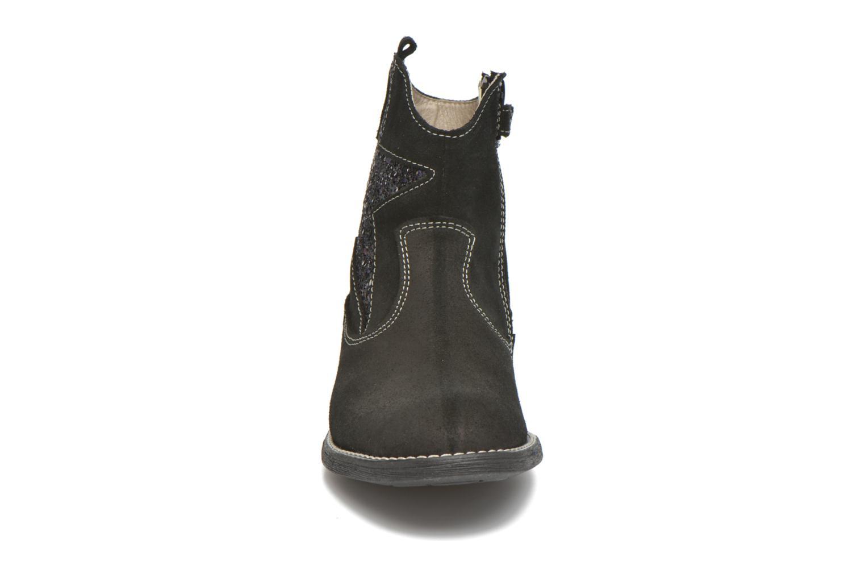 Bottines et boots Pablosky Daniela Noir vue portées chaussures