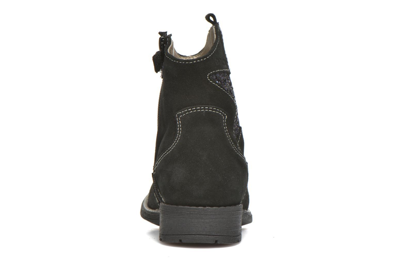 Bottines et boots Pablosky Daniela Noir vue droite