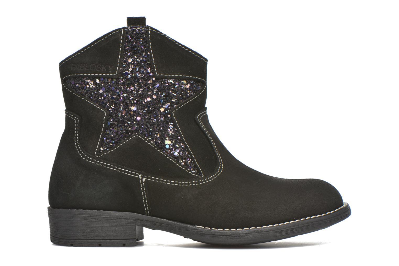 Bottines et boots Pablosky Daniela Noir vue derrière