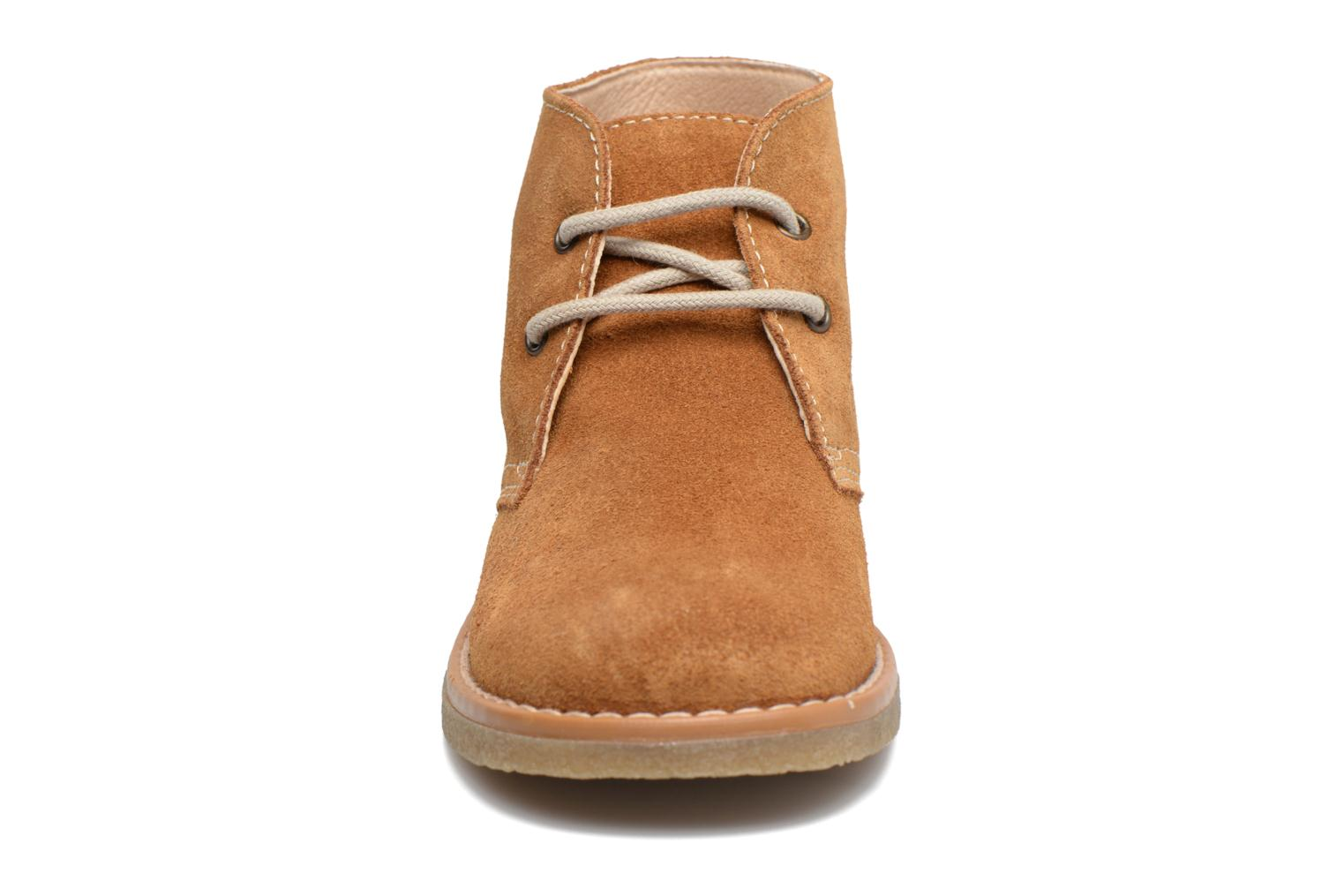 Lace-up shoes Pablosky Camilo Brown model view
