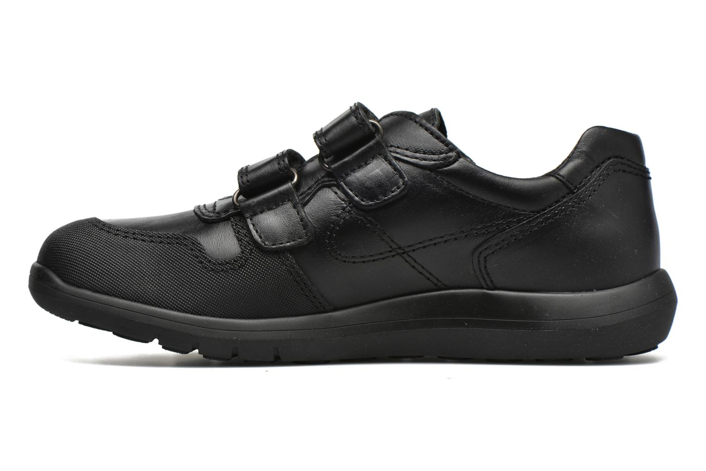 Zapatos con velcro Pablosky Huberto Negro vista de frente