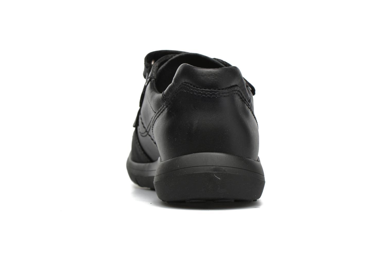 Zapatos con velcro Pablosky Huberto Negro vista lateral derecha