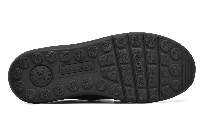 Zapatos con velcro Pablosky Huberto Negro vista de arriba