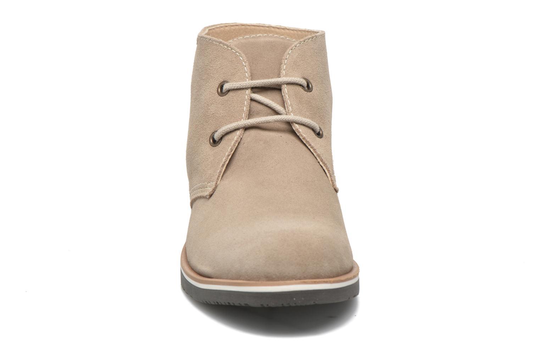 Chaussures à lacets Pablosky Pablo Beige vue portées chaussures