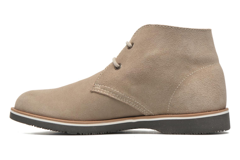 Chaussures à lacets Pablosky Pablo Beige vue face