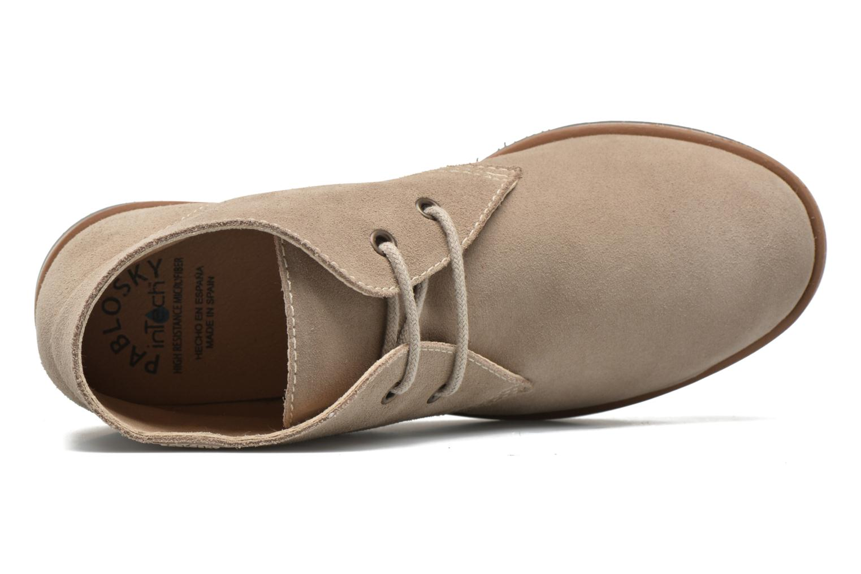 Chaussures à lacets Pablosky Pablo Beige vue gauche