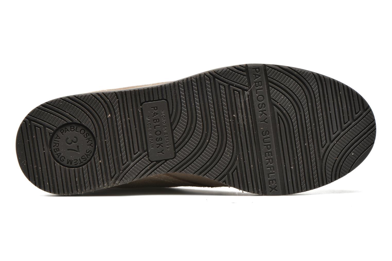 Chaussures à lacets Pablosky Pablo Beige vue haut