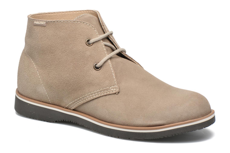 Chaussures à lacets Pablosky Pablo Beige vue détail/paire