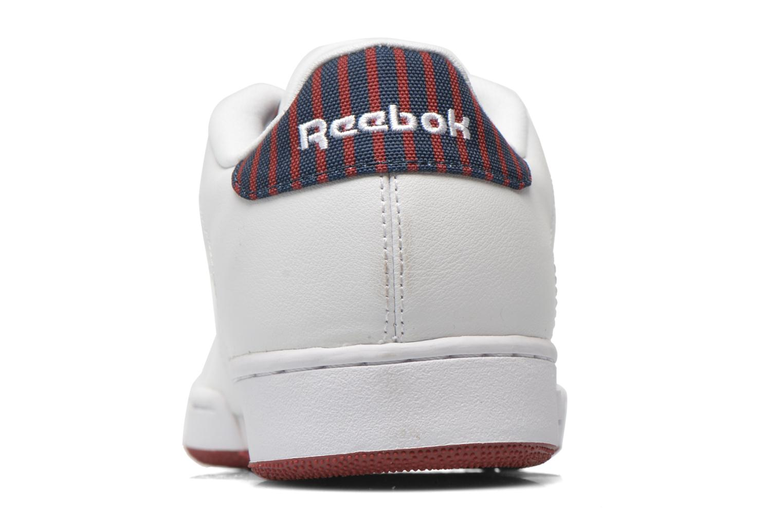 Sneaker Reebok Npc Ii Stripe weiß ansicht von rechts