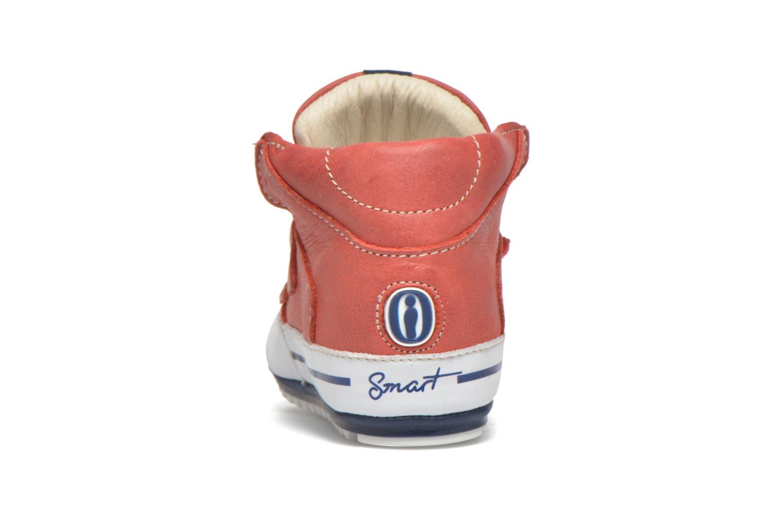 Chaussures à scratch Shoesme Simon Rouge vue droite