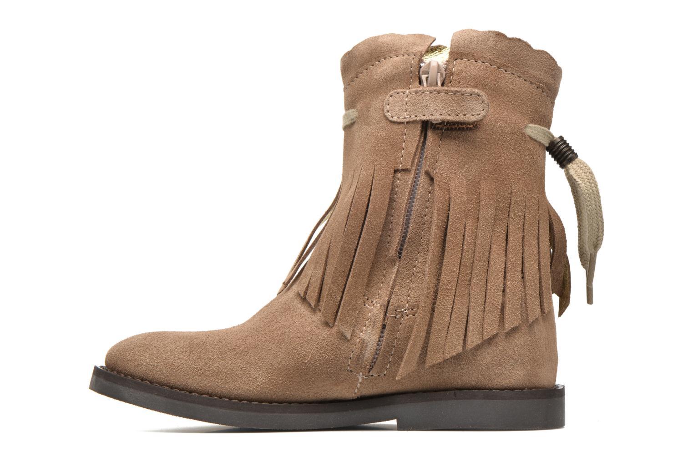 Stiefel Shoesme Serena braun ansicht von vorne