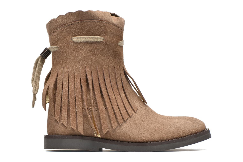 Støvler & gummistøvler Shoesme Serena Brun se bagfra