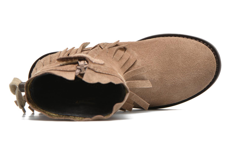 Stiefel Shoesme Serena braun ansicht von links