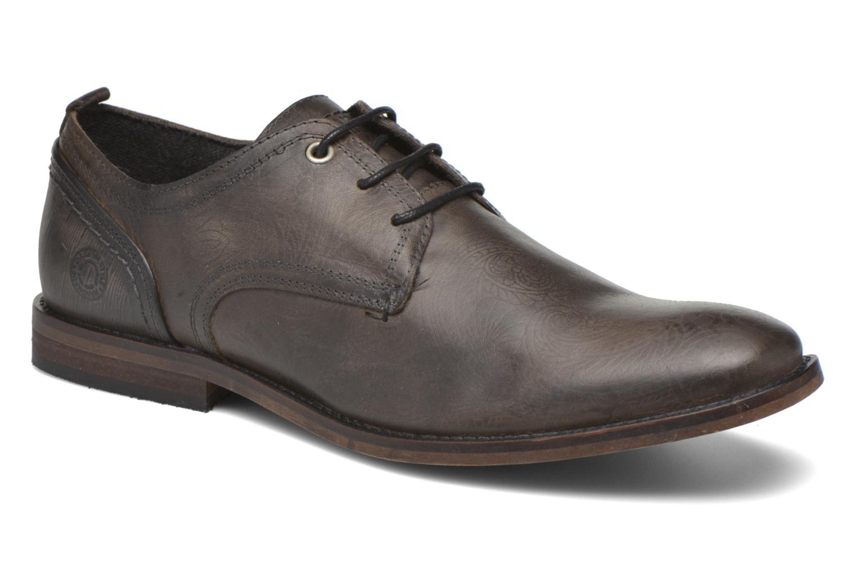 Chaussures à lacets Bullboxer Casey Gris vue détail/paire