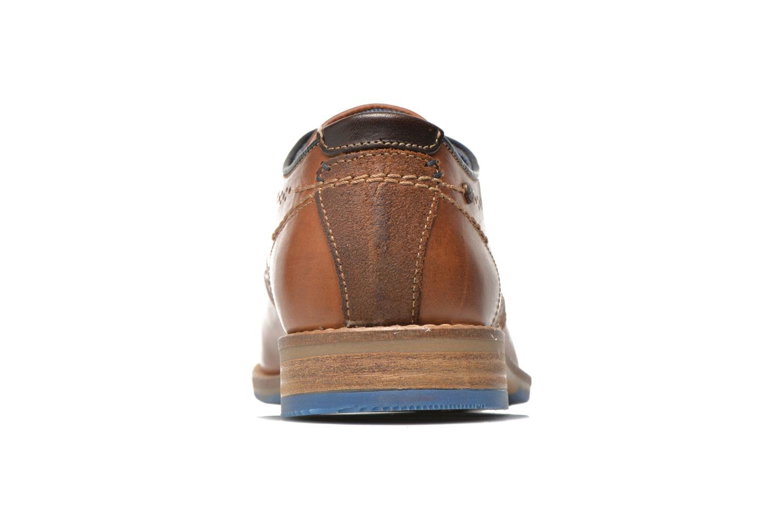 Chaussures à lacets Bullboxer Andre Marron vue droite