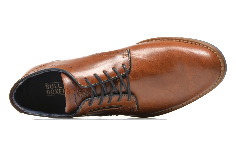 Chaussures à lacets Bullboxer Andre Marron vue gauche