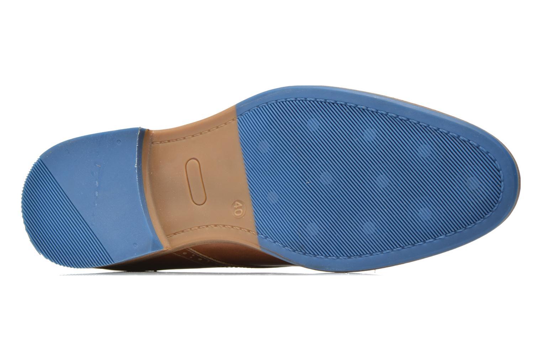 Chaussures à lacets Bullboxer Andre Marron vue haut