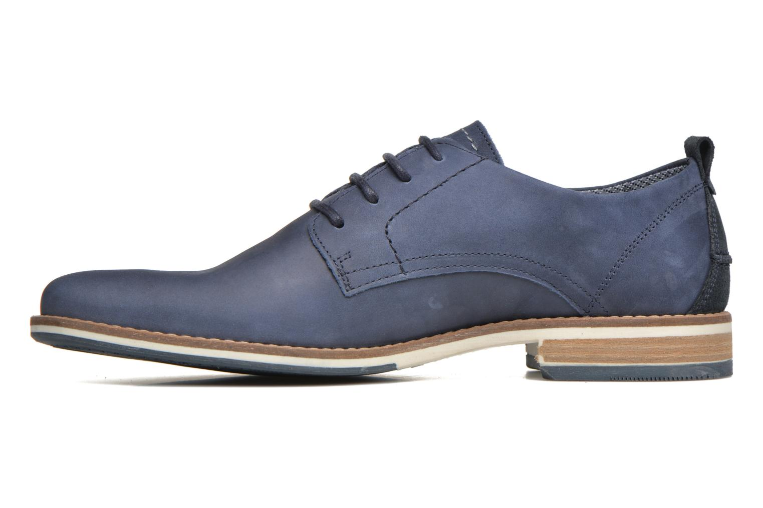 Lace-up shoes Bullboxer Andre Blue front view