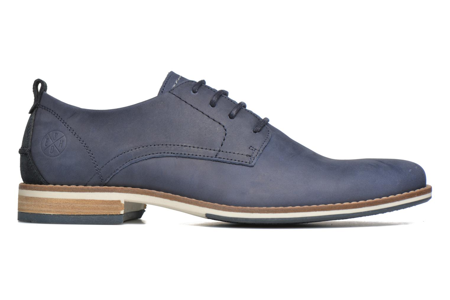 Lace-up shoes Bullboxer Andre Blue back view