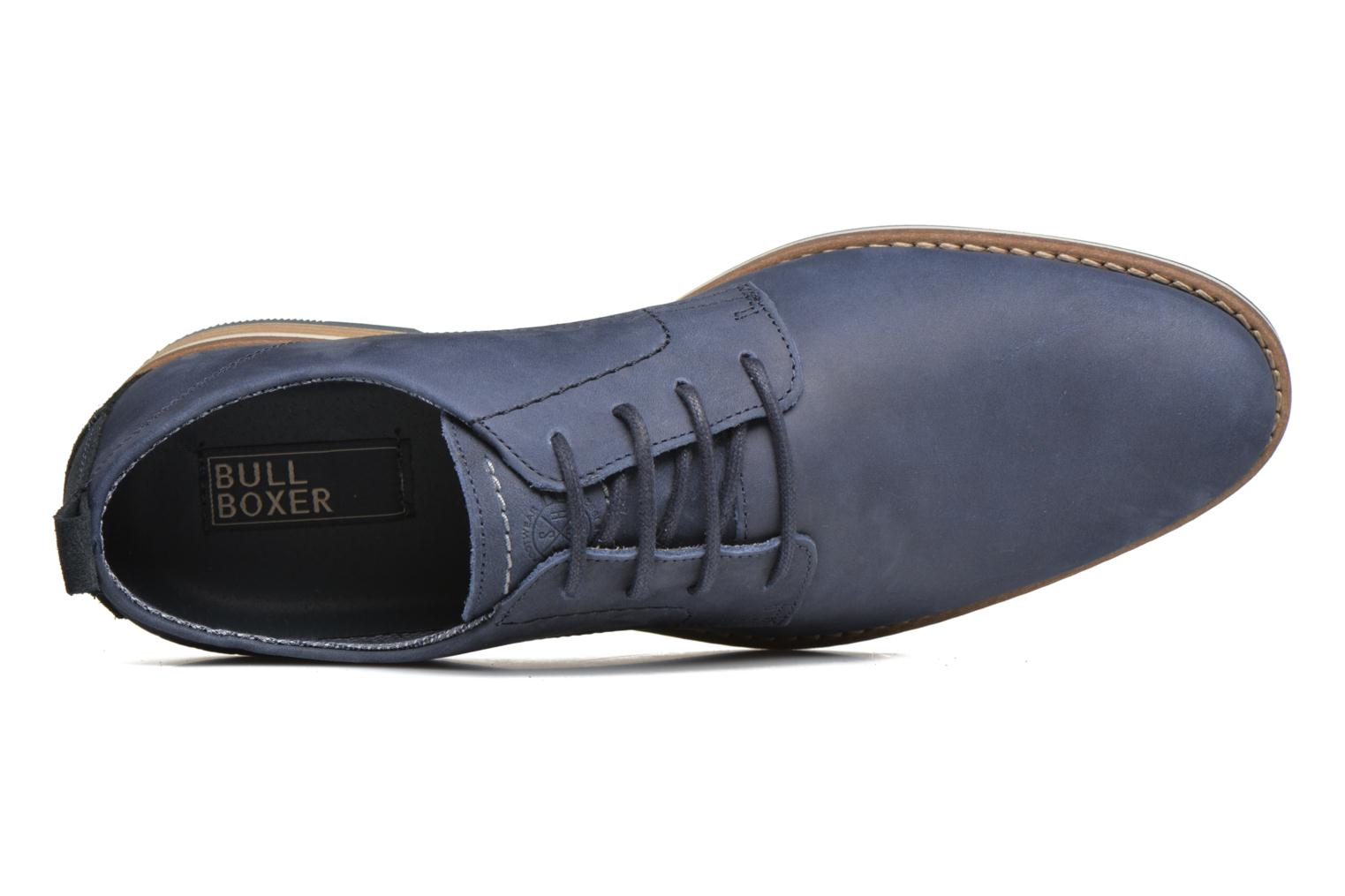 Lace-up shoes Bullboxer Andre Blue view from the left