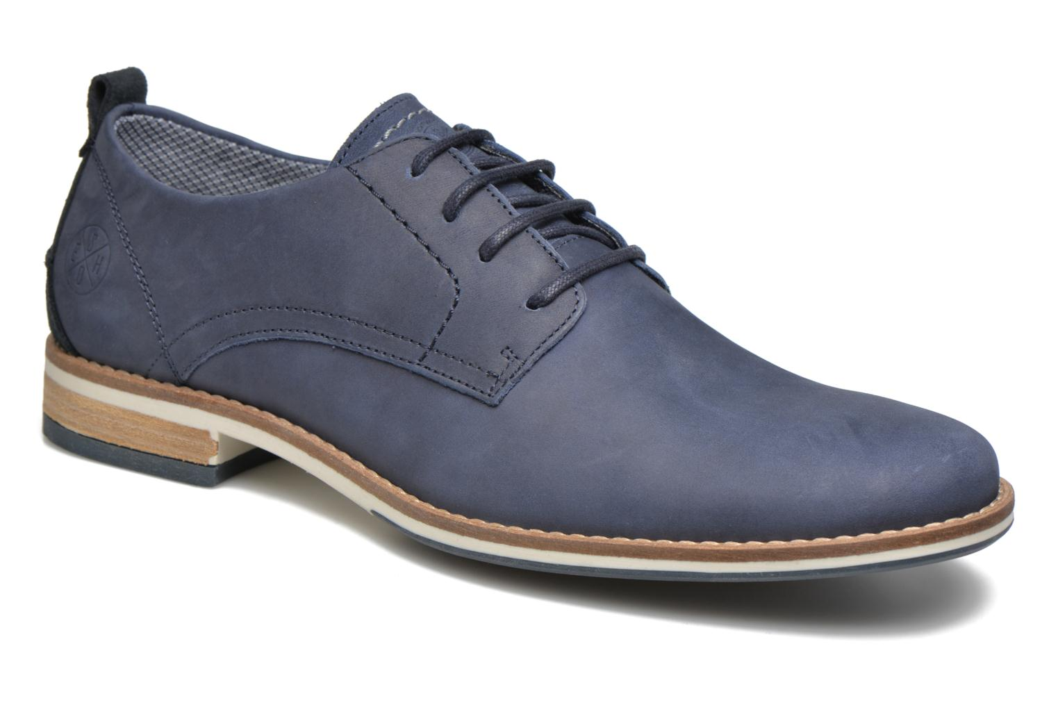 Lace-up shoes Bullboxer Andre Blue detailed view/ Pair view