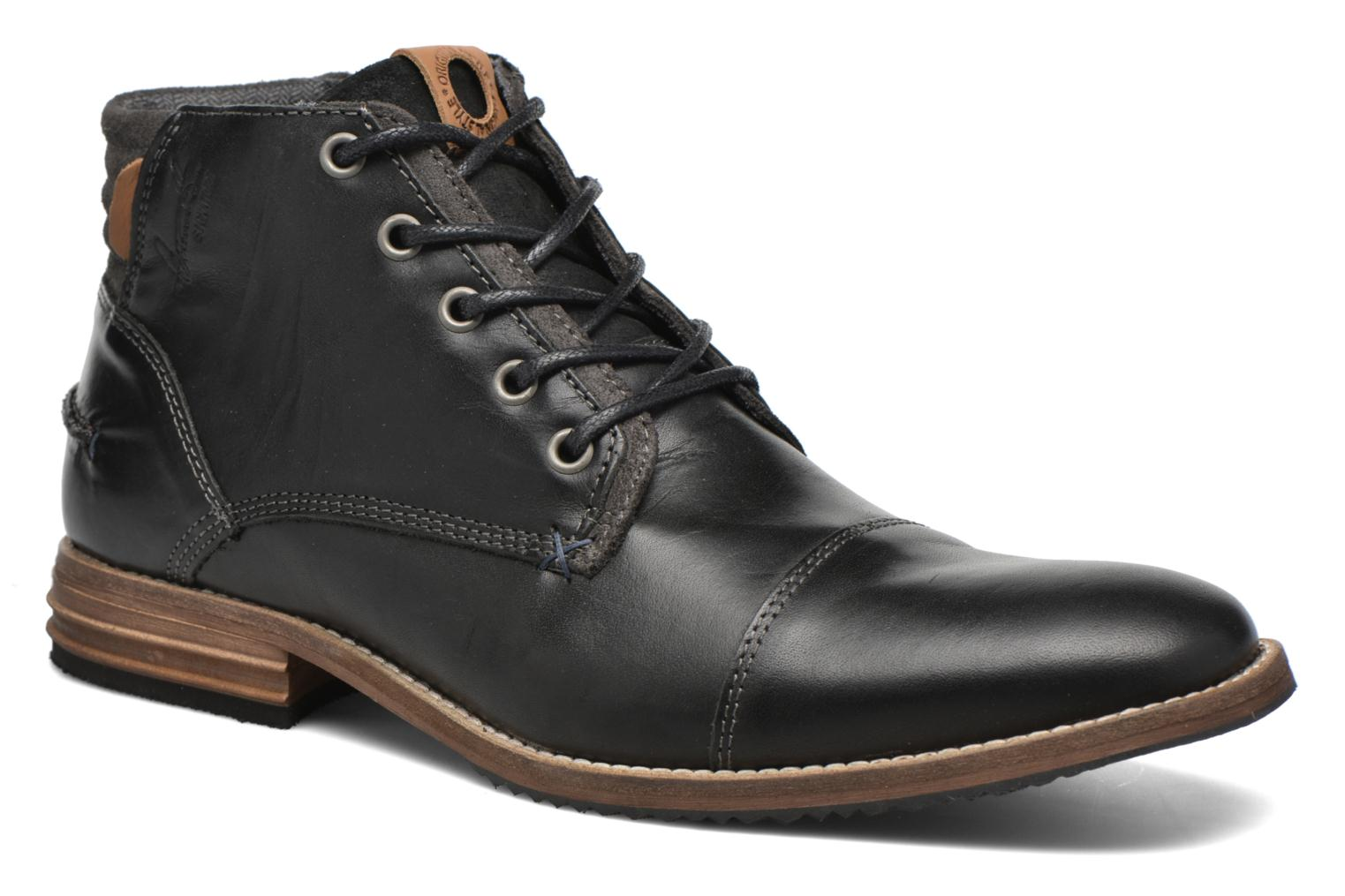 Bottines et boots Bullboxer William Noir vue détail/paire