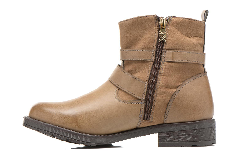 Bottines et boots Xti Geminia-28525 Beige vue face
