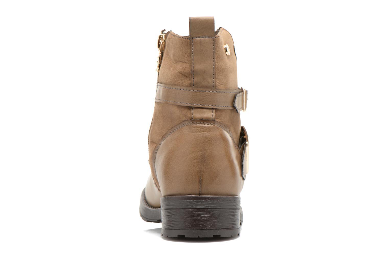 Bottines et boots Xti Geminia-28525 Beige vue droite