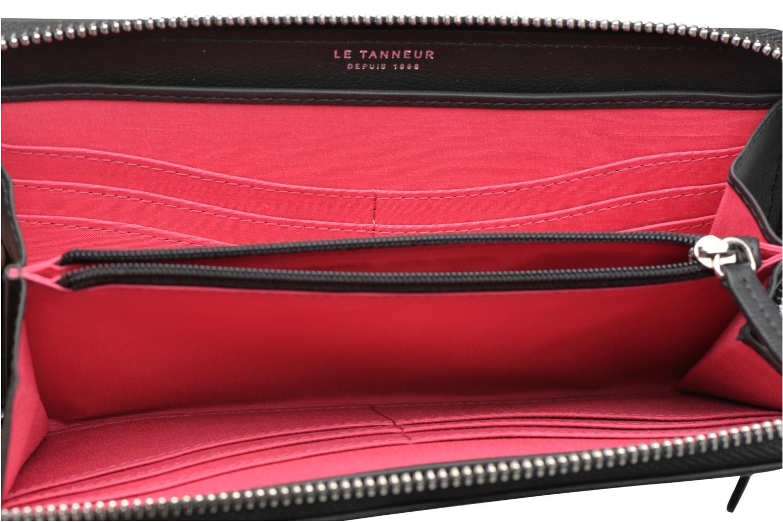 Portemonnaies & Clutches Le Tanneur VALENTINE Porte-monnaie long zippé schwarz ansicht von hinten