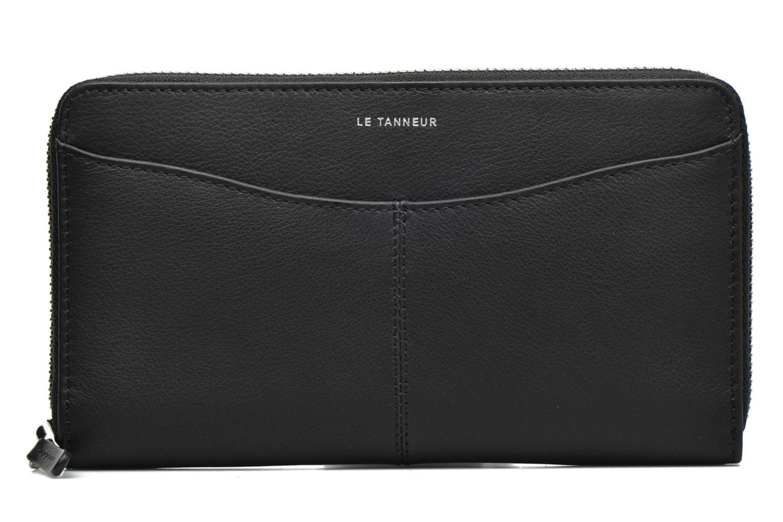 Portemonnaies & Clutches Le Tanneur VALENTINE Porte-monnaie long zippé schwarz ansicht von links
