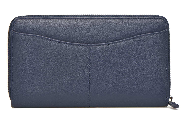 Portemonnaies & Clutches Le Tanneur VALENTINE Porte-monnaie long zippé blau ansicht von vorne