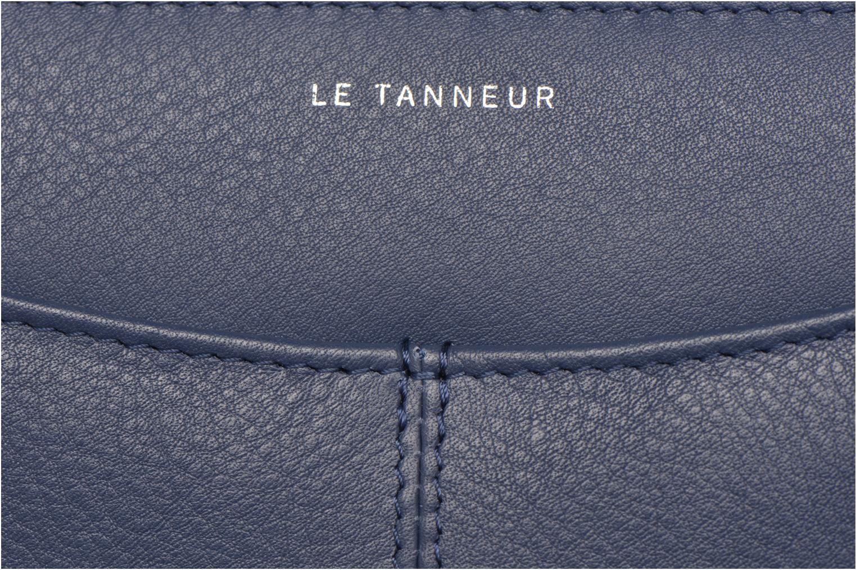 Portemonnaies & Clutches Le Tanneur VALENTINE Porte-monnaie long zippé blau ansicht von links