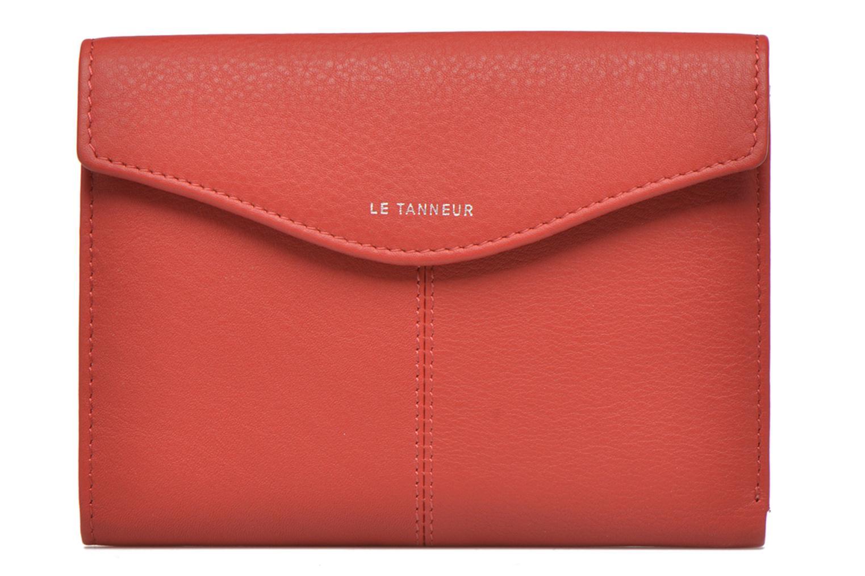 Petite Maroquinerie Le Tanneur VALENTINE Portefeuille poche zippée Rouge vue gauche