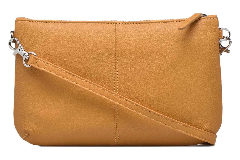 Mini Bags Le Tanneur VALENTINE Pochette zippée gelb ansicht von vorne