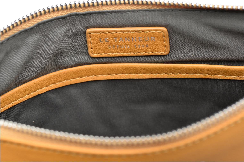Mini Bags Le Tanneur VALENTINE Pochette zippée gelb ansicht von links